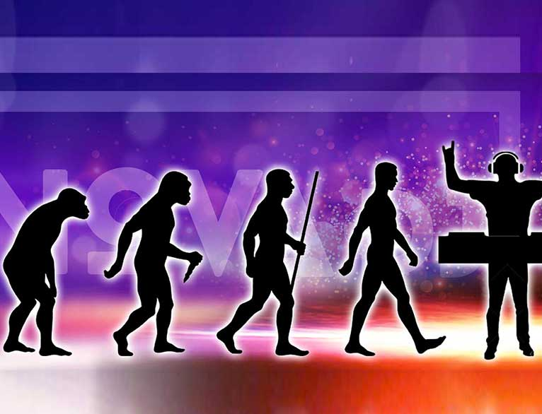 The evolution of music and the DJ